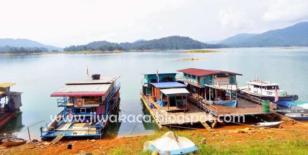 house boat, tasik kenyir, terengganu, review
