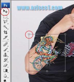 Tutorial membuat tato di tubuh