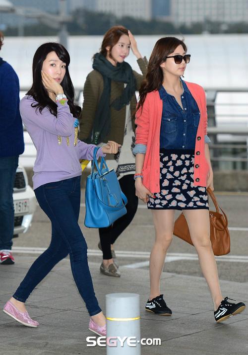 SNSD Di Bandara Incheon 06