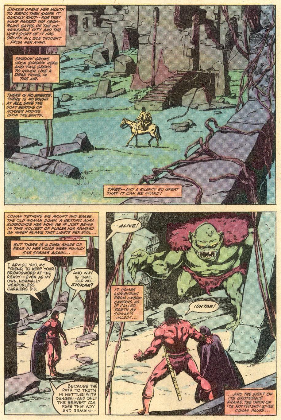 Conan the Barbarian (1970) Issue #126 #138 - English 9