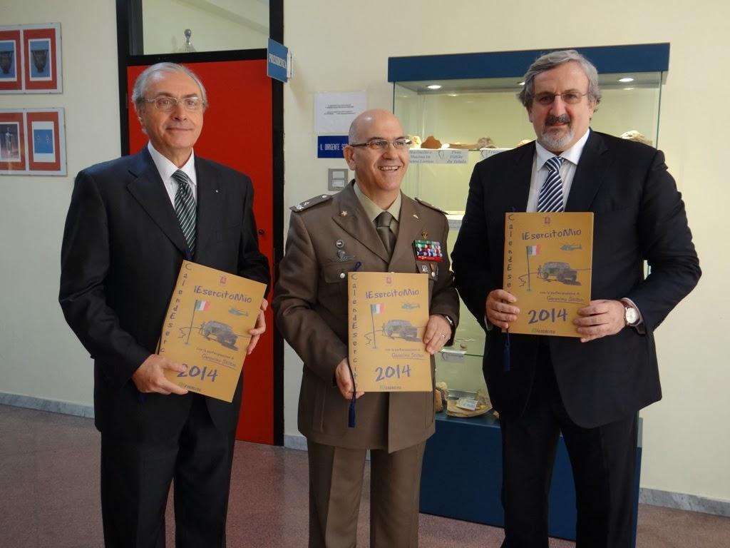 Nella foto: Il Comandante Territoriale Gen. B. Natalino MANEDDU-