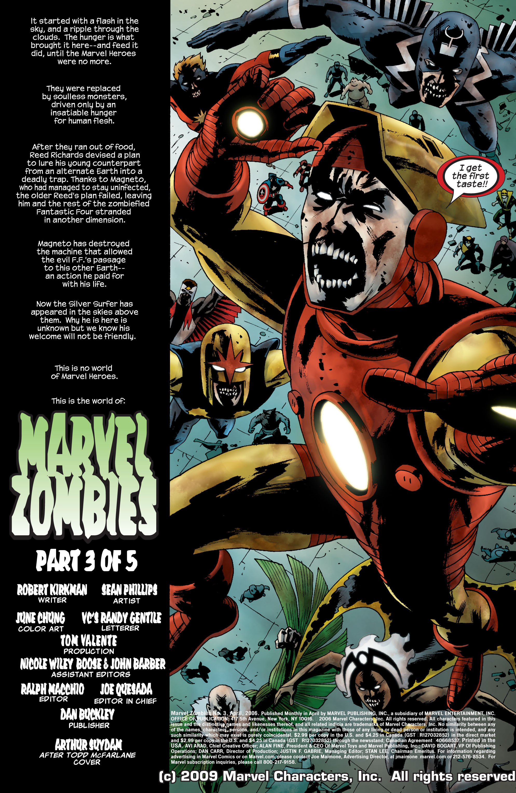 Marvel Zombies (2006) Issue #3 #3 - English 2