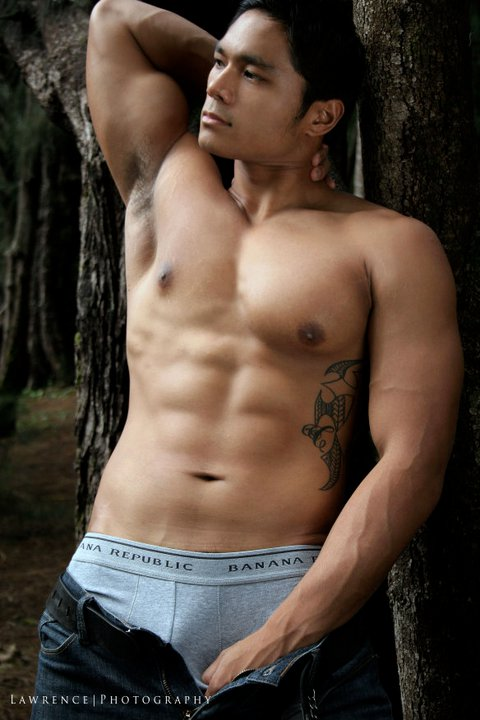 Cedric Jonathan - beautiful Pacific Islander