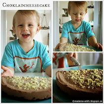 Chokladcheesecake med oreobotten