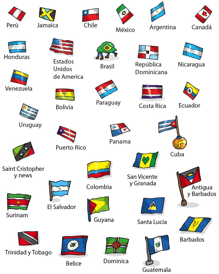Estas Banderas Pertenecen Al Libro  Perdidos En El Espacio  Editado