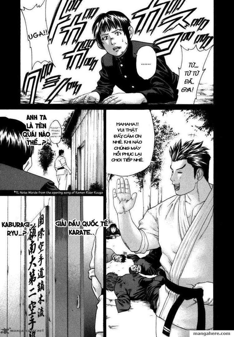 Karate Shoukoushi Kohinata Minoru chap 81 Trang 19