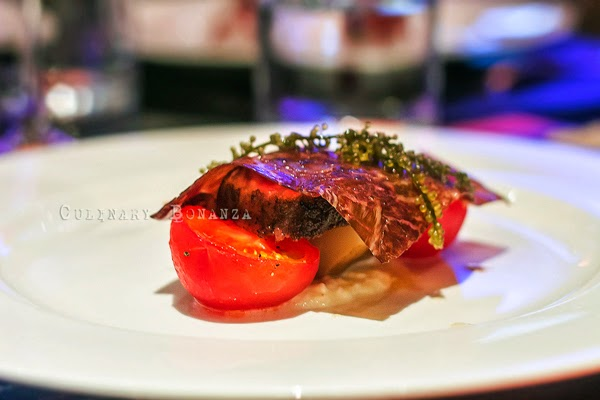 Wagyu, Burrata, Fruit Tomato, Artichoke, Sea Grape by Chef Ryan Clift (Culinary Bonanza)