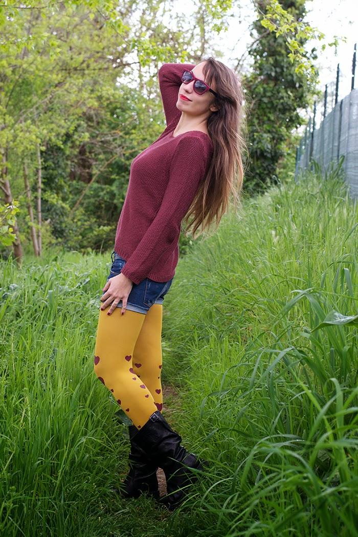 maglione burgundy