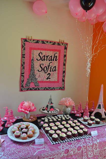 Ordinary People: French Theme Birthday Party - Sarah's 2nd BD Party -