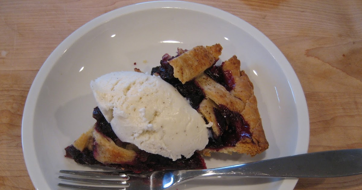 in the kitchen at number 42: Cranberry and Wild Blueberry Pie