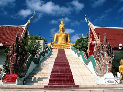 The Big Buddha Koh Samui Samui Island Thailand