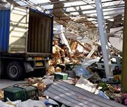 Thumbnail image for Kilang Bahan Kimia Meletup & Runtuh