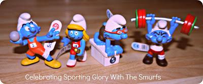 Smurfs, sports, Olympics