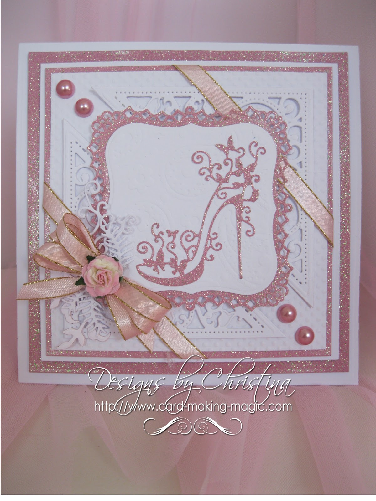 lace card making ideas