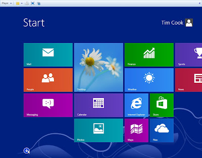 Windows Blue 8.1 - 9374 Leaked new screen
