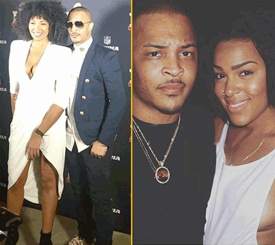 TI Brings Out New GIRLFRIEND On Red Carpet, Hes