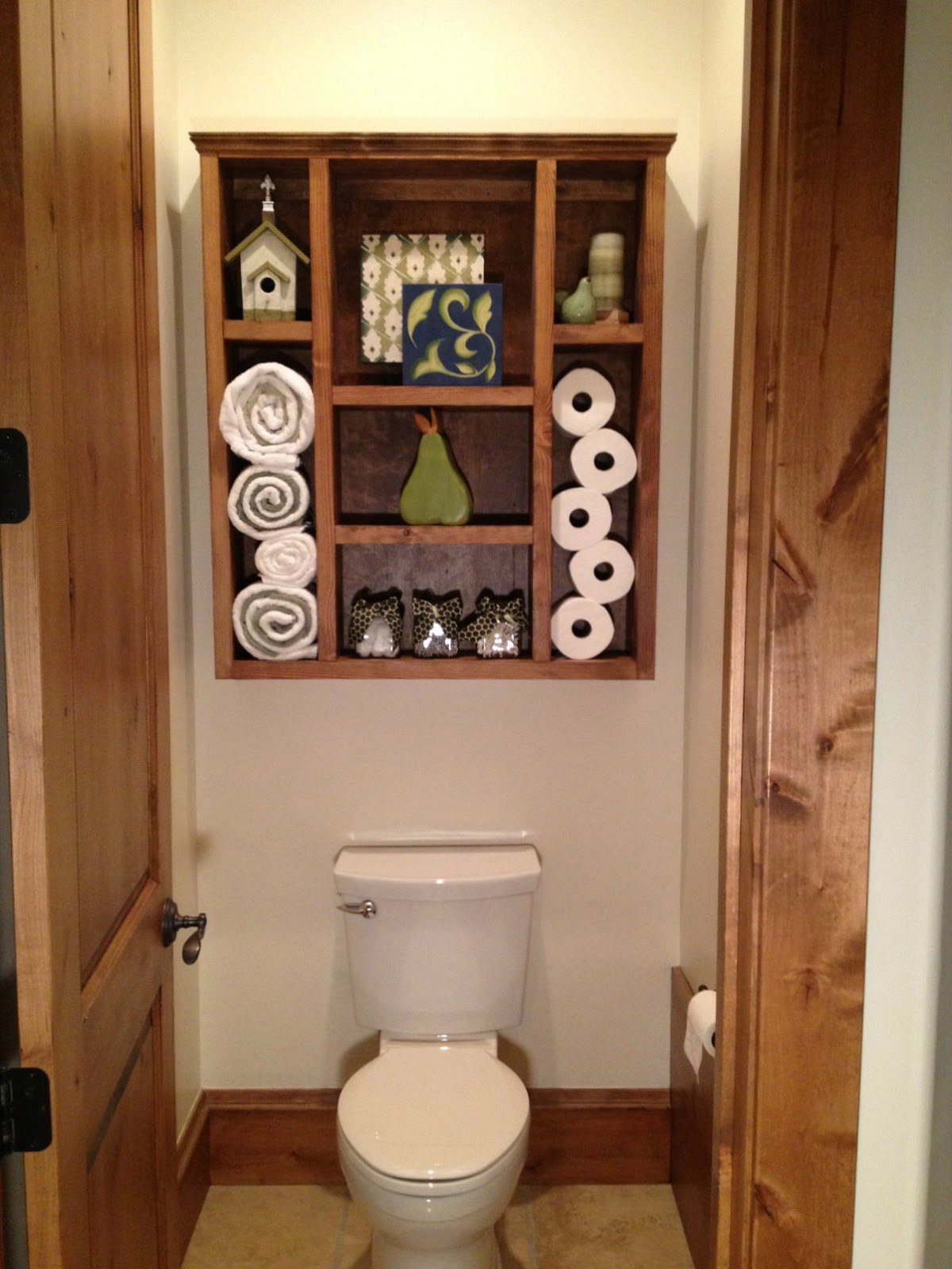 Dad Built This: Bathroom Shelf