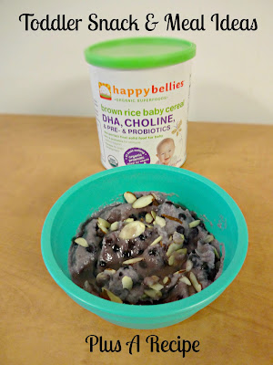 Healthy Toddler Meal And Snack Ideas - Plus A Recipe