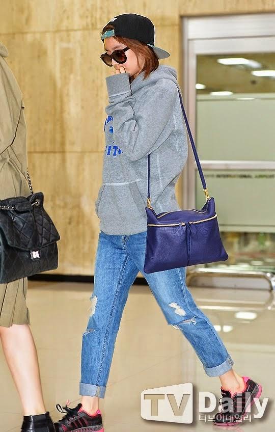 Model Baju Korea Ala T-ara Jiyeon Di Bandara