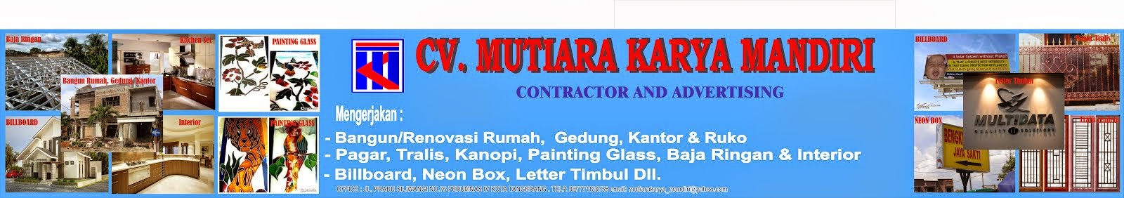 GENERAL CONTRACTOR AND ADVERTISING
