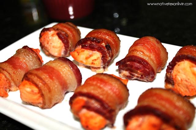 El Yucateco bacon wrapped chicken bombs