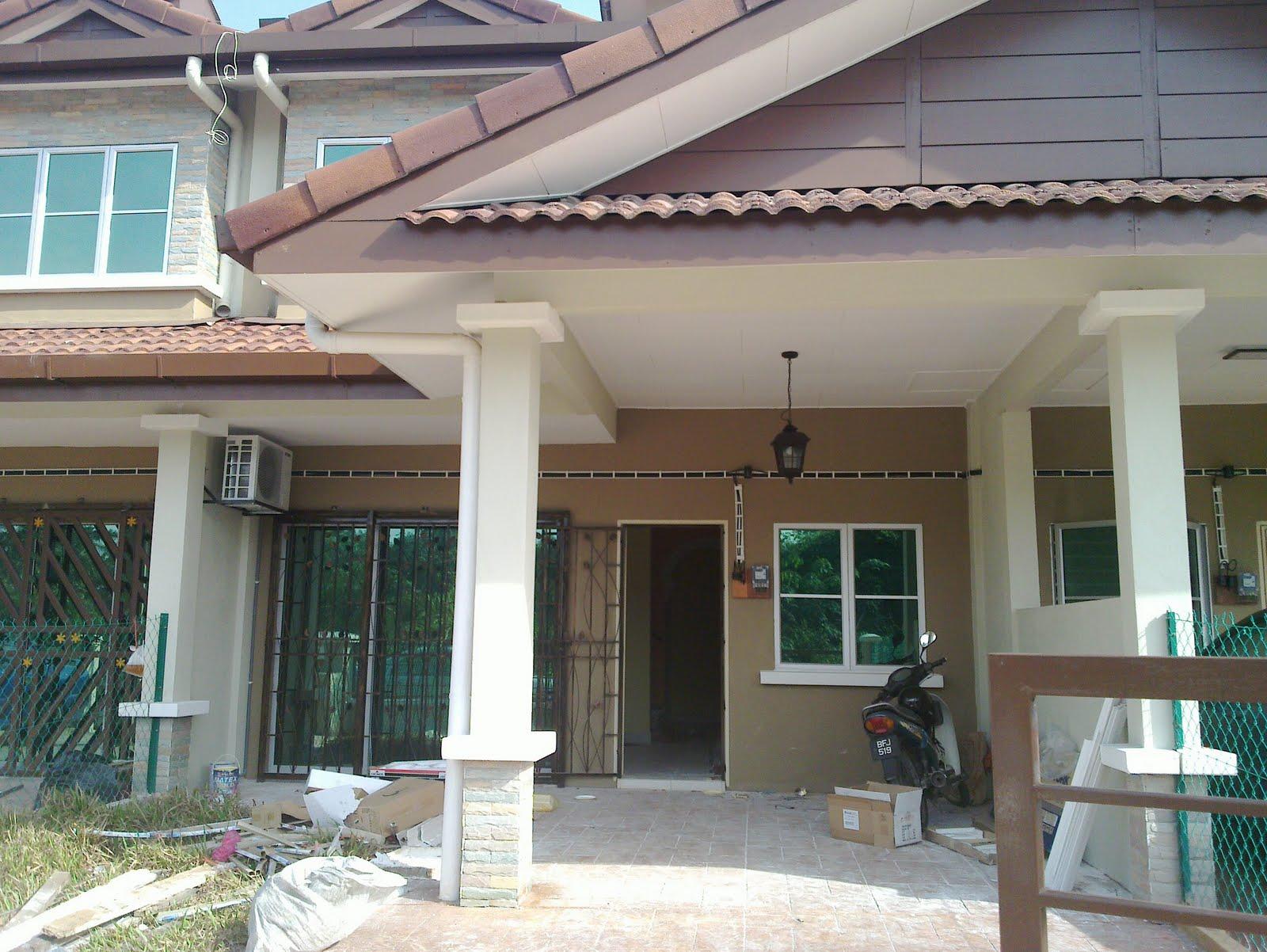 Reka Bentuk Rumah baru aku...teres 2 tingkat & Blog Masni Syafie \
