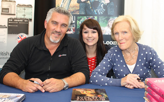 Me with Paul Hollywood and Mary Berry