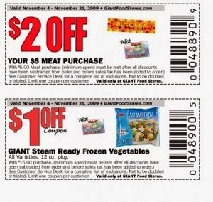 Free groceries with coupons