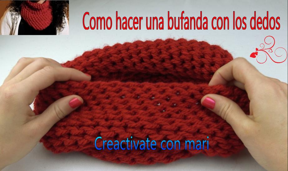 Bufandas de lana originales tutoriales diy cmo hacer una - Como hacer una bufanda de lana gorda ...