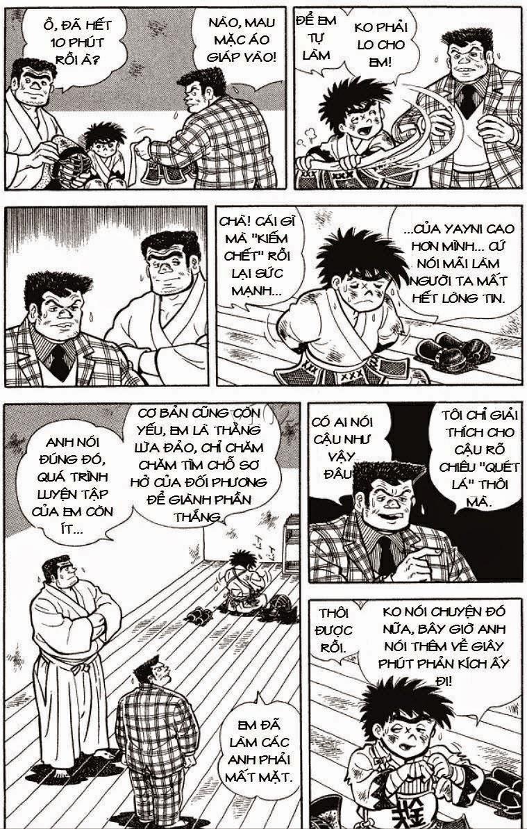 Siêu quậy Teppi chap 131 - Trang 8