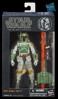 "Hasbro Star Wars The Black Series - Series 2 - 6"" Boba Fett Figure"