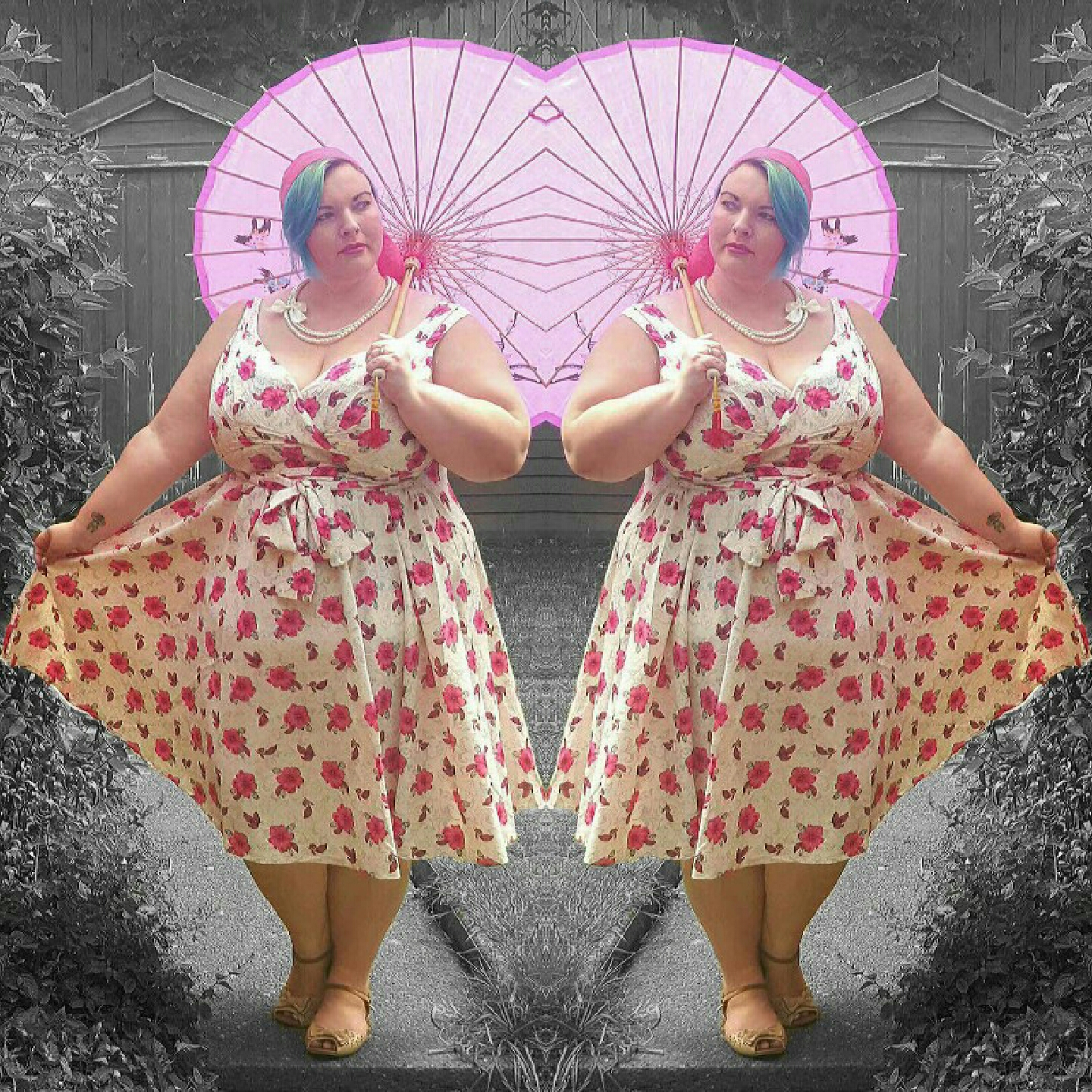a curvy cupcake: vintage summer with bbw couture*