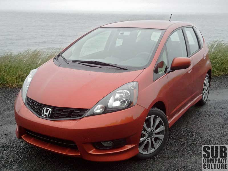 Review 2012 Honda Fit Sport With Navi Is It Still Fit For First