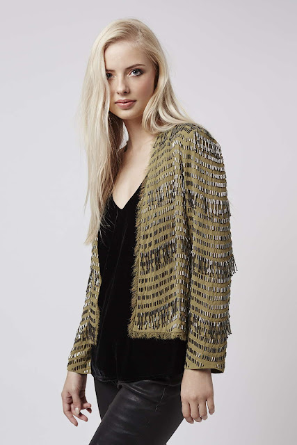gold silver jacket, gold embellished jacket,