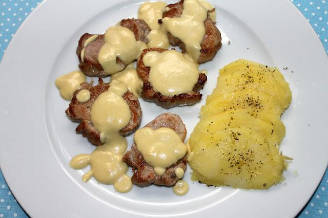 Cocina de nuestro tiempo solomillo ib rico con salsa - Solomillo de ternera al horno con mostaza ...