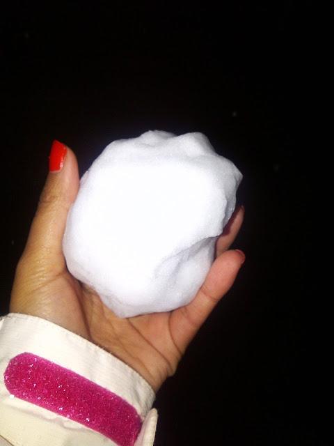 Making snowballs in Bitola