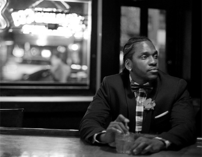 Pusha T Hairstyle We knew terrance would one day