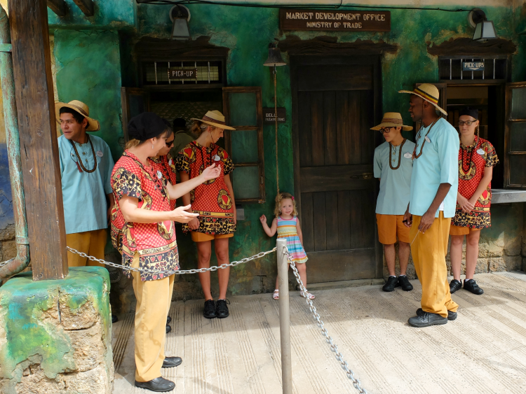 Walt Disney World, Animal Kingdom, Harambe Market opening bell