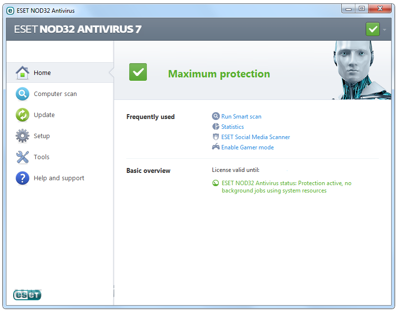 nod32 screenshot 01 Username and Password ESET NOD32 Antivirus 2015