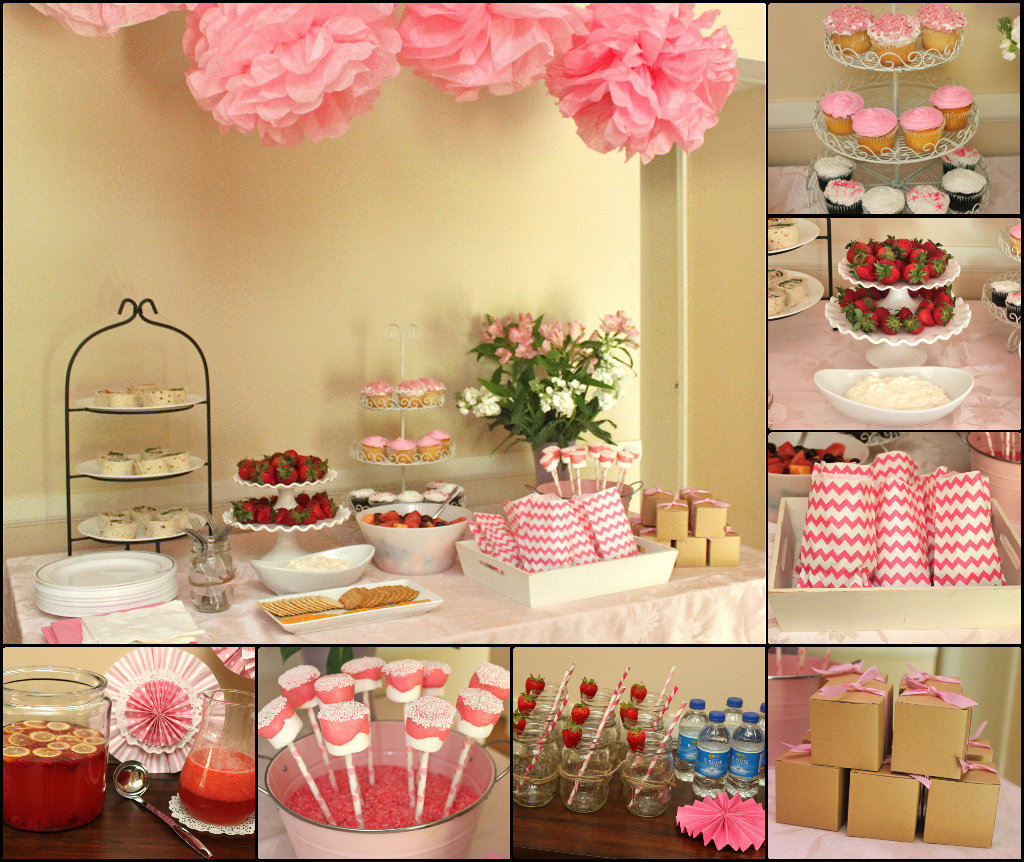 Decorating Ideas For A Bridal Shower