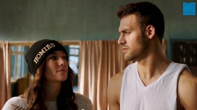 Briana Evigan (Andie) y Ryan Guzman (Sean)