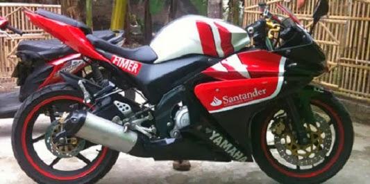 Modifikasi Yamaha Vixion R125