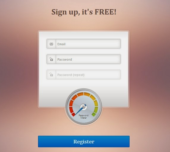 Login/register Form With Pass