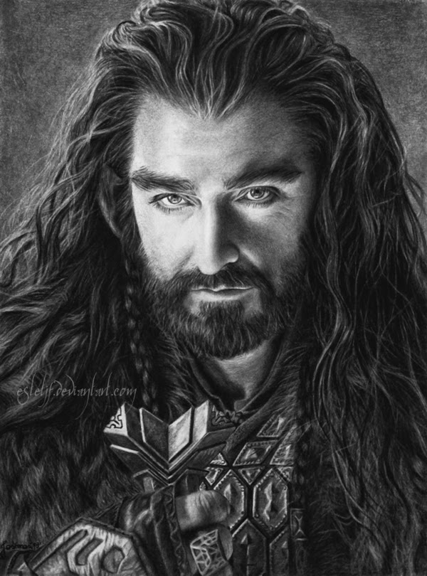 05-Thorin-Oakenshield-Richard-Armitage-Josi-Fabri-Esteljf-The Hobbit-LotR-www-designstack-co