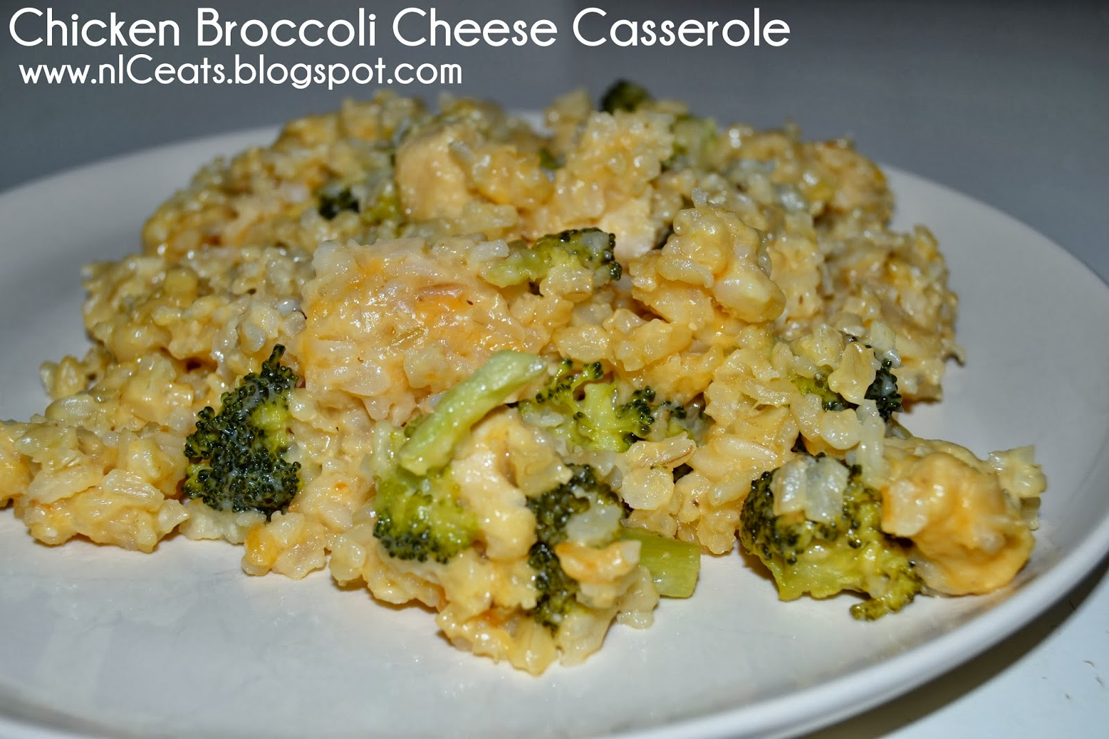nICeats: Chicken Broccoli Cheese Casserole