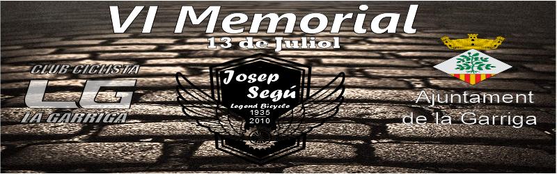 6e Memorial JOSEP SEGÚ