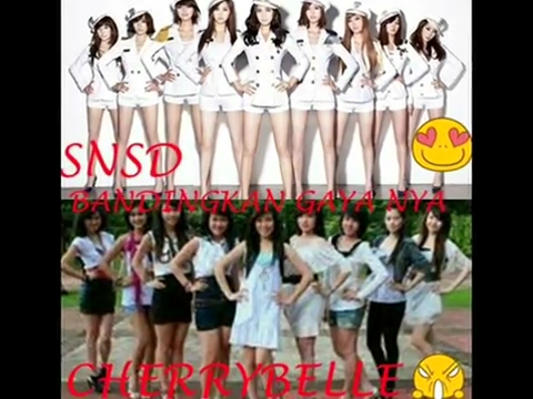 Hello There !!!: Fakta Cherry belle plagiat SNSD