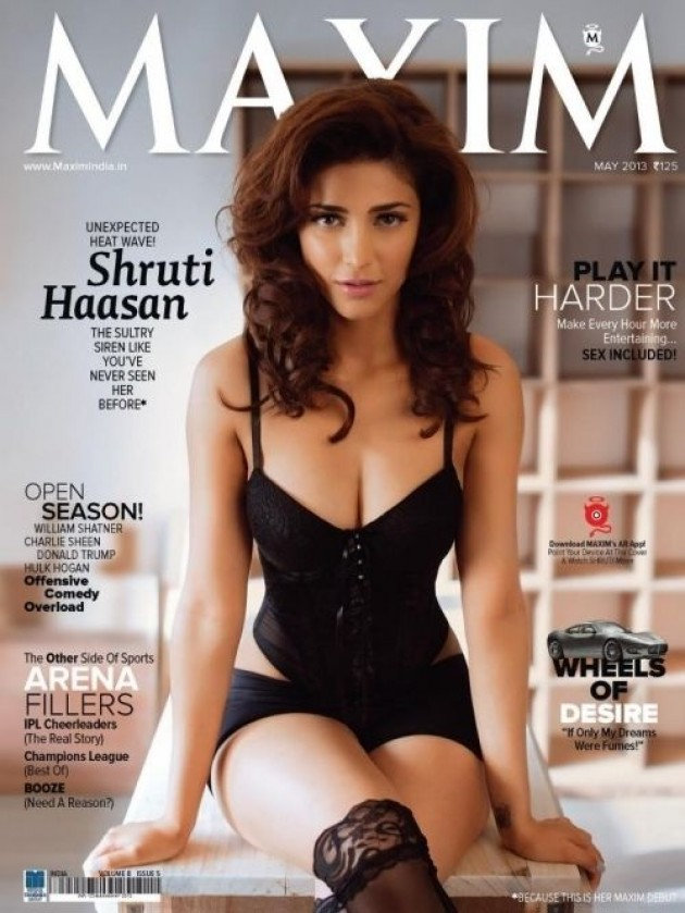 Shruti Hassan Maxim India Magazine Images