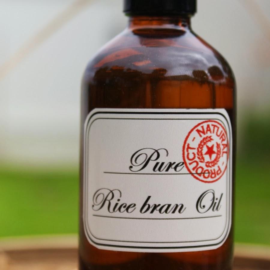 huile de son de riz bio