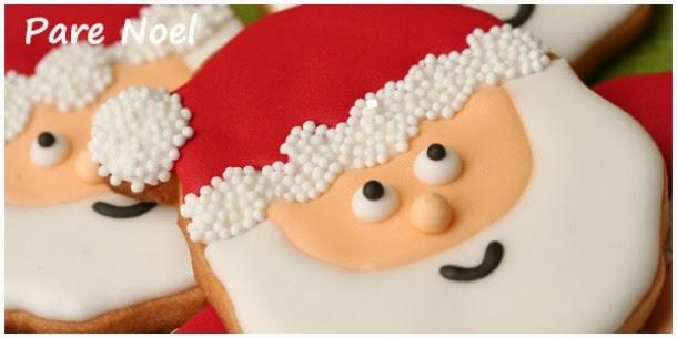 galeta de nadal, galleta de navidad, galeta decorada de nadal, galleta decorada de navidad, galeta pare noel, galeta santa claus, galleta papa noel, galleta santa claus